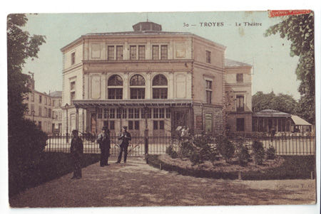 10 - TROYES - Le theâtre