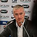 <b>Deschamps</b> choisit la discipline