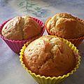 Muffins au lemoncurd
