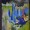 COULEURS DU JARDIN peintures