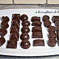 Chocolats fourrés à la confiture de lait