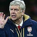 Wenger a critiqué le calendrier de premier league !
