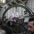 Manifestants pour un rêve général contre Sarkozy