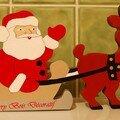 Père Noël traineau