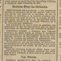La Petite Gironde, vendredi 26 janvier 1912