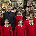 <b>Mendelssohn</b> : Chœurs romantiques.Chœurs du Conservatoire de Metz . Eglise de Metz-Queuleu. 16 mars