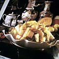 Salade de fruits au gingembre et au miel