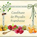 conf physalis framboise