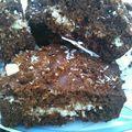 Brownies chocolat / noix de coco