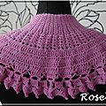 Roselaine208 Adriafil neckwarmer chauffe-cou