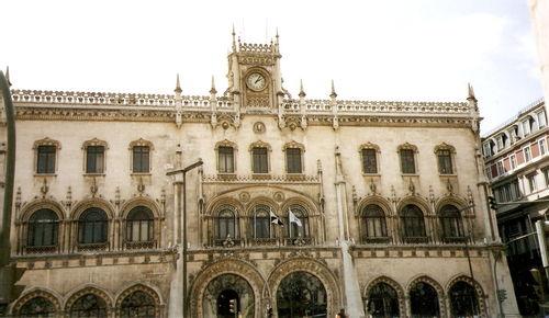 Lisbonne-gare Rossio