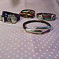 Et voilà mes nouveaux bracelets de papa nowelllllll :-)