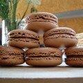 Mes macarons au nutella