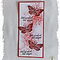 Marque-page <b>style</b> <b>free</b> : les papillons du bonheur
