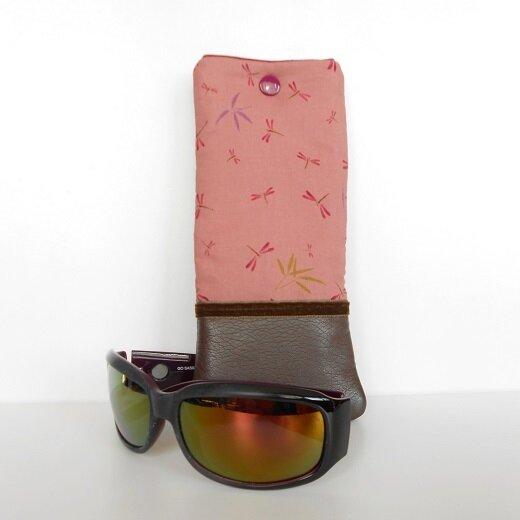 Etui lunettes libellules1