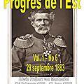 Progrès de l'est-29 septembre 1883-page 1