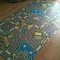 Un tapis de jeux