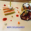 queue de maquereau, légumes acidulés, guimauve en jus aux allures d escabèche