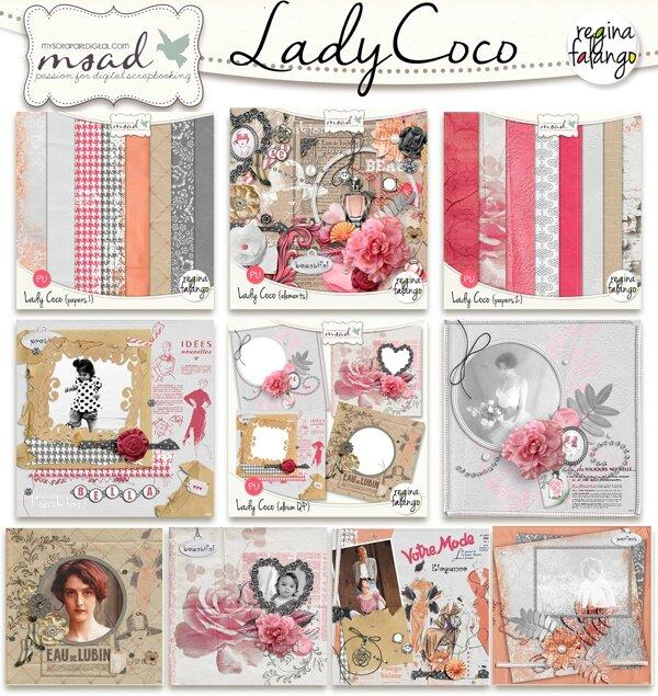 Lady Coco pour melle Chanel