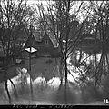 Inondation <b>Puteaux</b> novembre 1910.