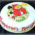 Gâteau chaperon rouge