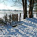Vallée de la saône en hiver