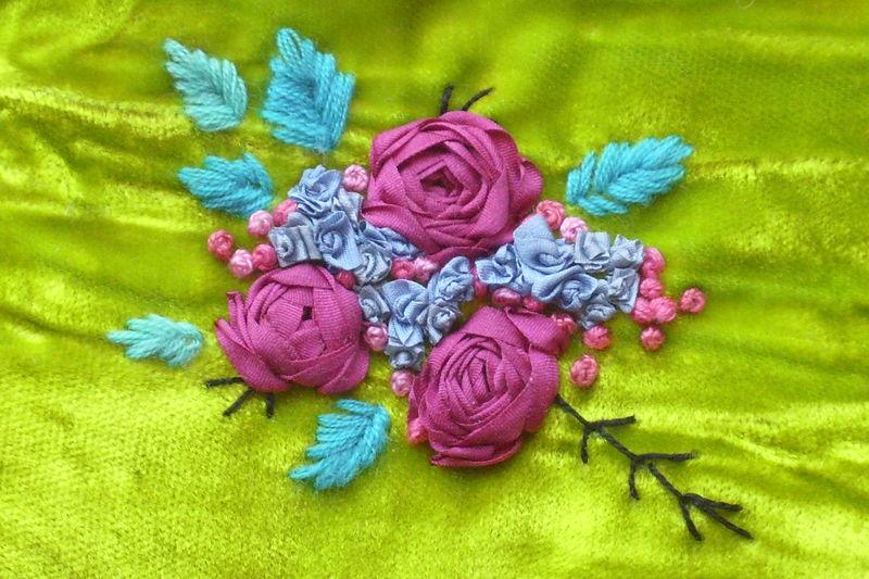 Coeur de Roses sur Velours