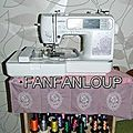 tapis machine à broder
