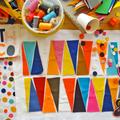 Textile & colors / géométrie peps chez castle!