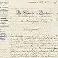 En 1845, La <b>Gaubretière</b> et Chanzeaux se disputent un legs
