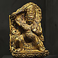 Divinité gardienne, Tibet ou Népal, ca 17°-18° siècle