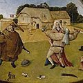 Dutch mediaeval master Bosch paintings 'likely imitations'