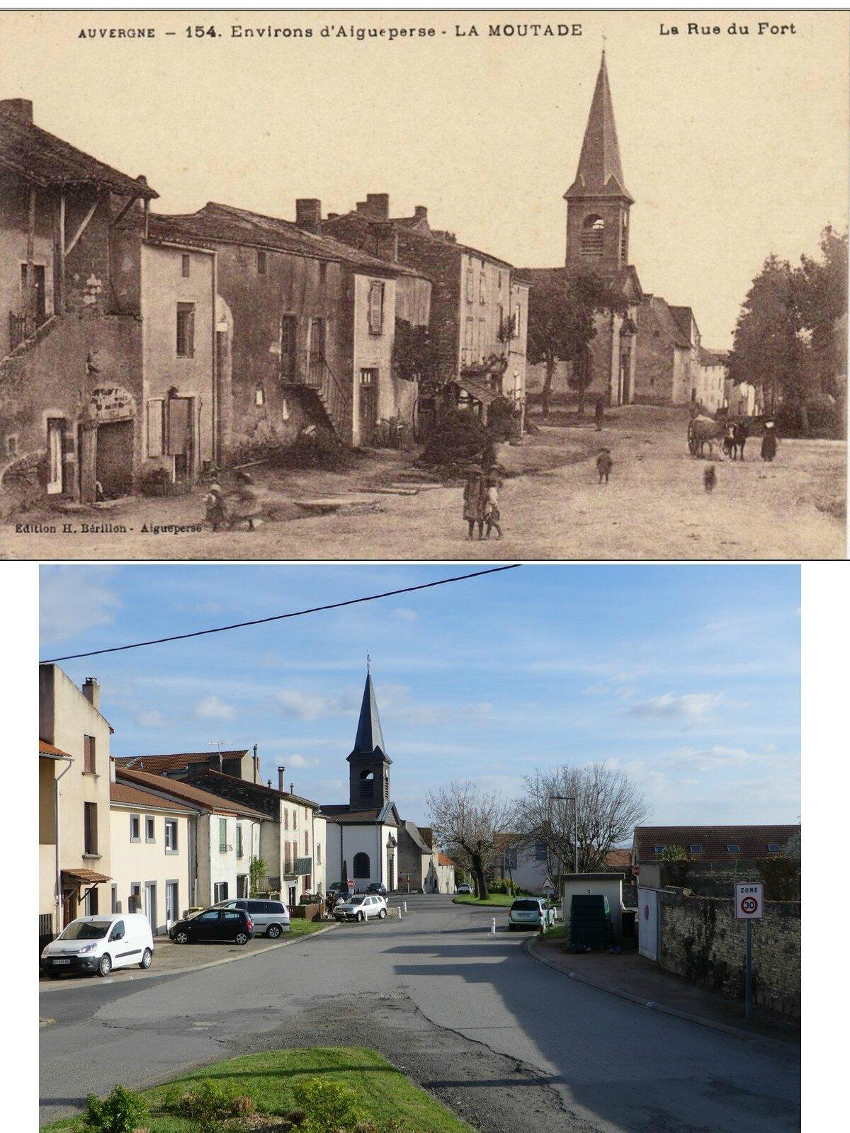 la rue du fort avant-après