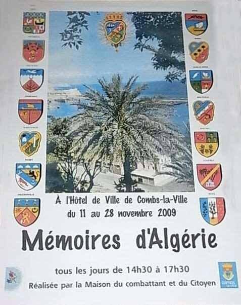 Affiche_Exposition_Memoires d'Algerie