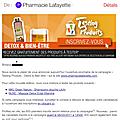 Testing pharmacie lafayette a 12h30 aujourd'hui 🍀