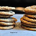 Cookies au beurre de cacahuète et aux pépites de chocolat