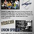 My band, union spirit tjs en concert cet été :-)