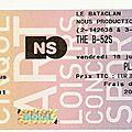 <b>The</b> <b>B</b>-<b>52</b>'<b>s</b> - Vendredi 18 Juillet 2008 - Bataclan (Paris)