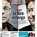 Europe le libre échange - Cohn Bendit/Mélenchon