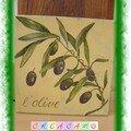 tableau olives