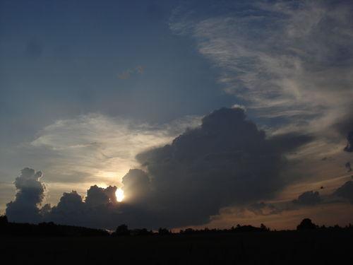 2008 07 01 Le coucher du soleil