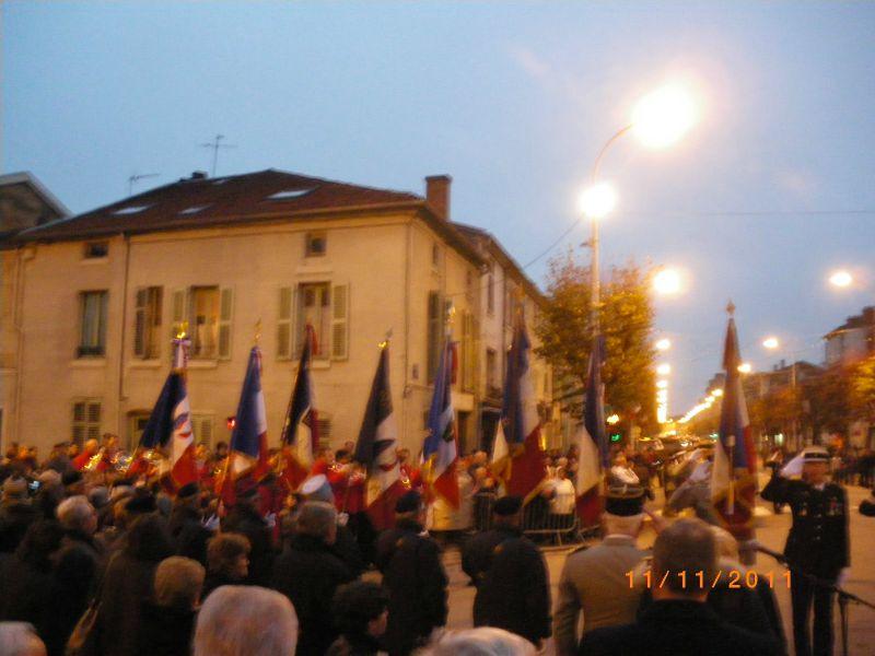 Cérémonie du 11 novembre 2011 à Bar Le Duc