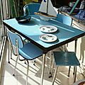 Table Formica Bleue1