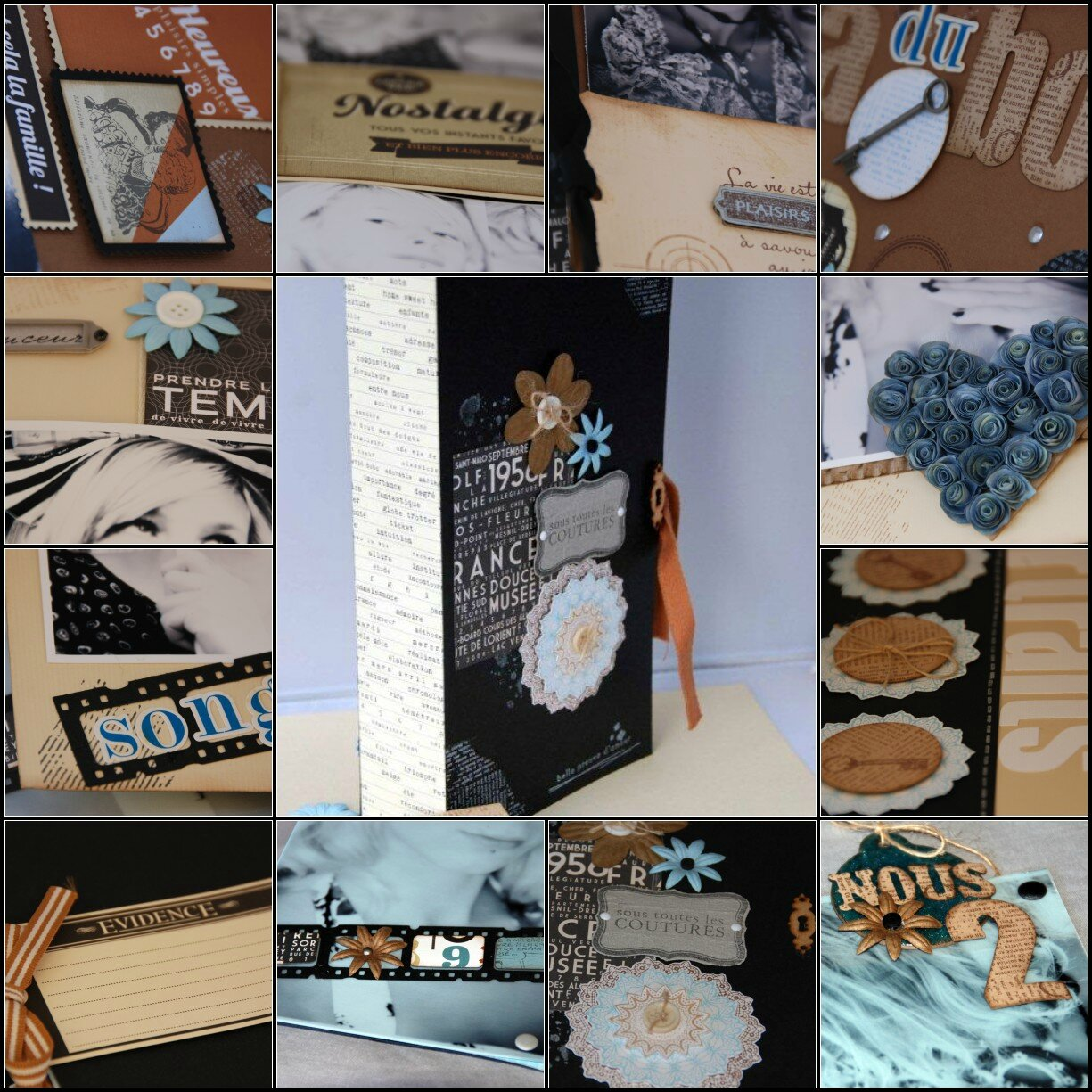 mosaique kit album novembre natpyllou