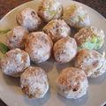 Rochers coco colorés