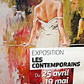 Exposition LES CONTEMPORAINS 2018