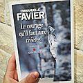Le courage qu'il faut aux rivières- <b>Emmanuelle</b> <b>Favier</b>