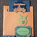 Carte halloween, atelier stampin'up