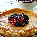 Cheesecake aux fruits rouge