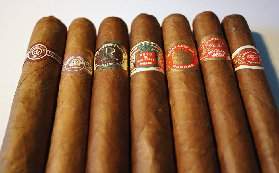 Achetez des cigares à Cuba